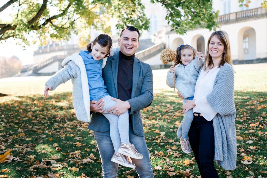 Natürliche Familienfotos Stuttgart