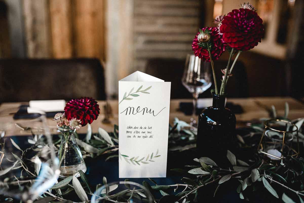 Hochzeitsdeko Bohostil