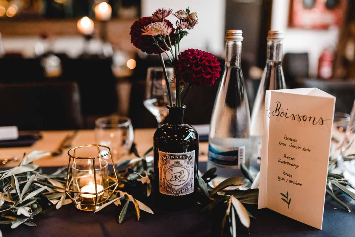 Tischdecke Hochzeit