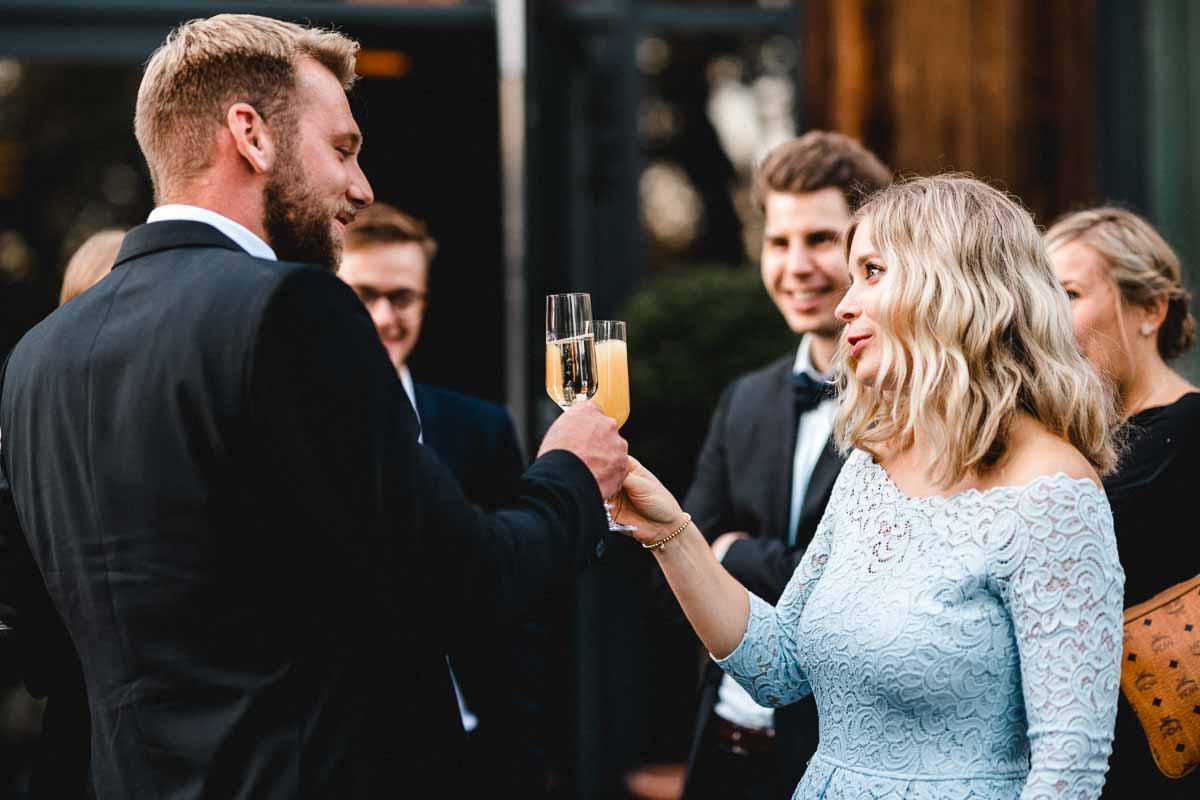 Hochzeitsfeier Fellbach