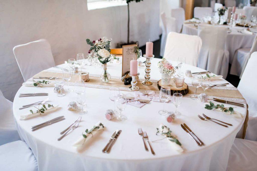 Hochzeitsfeier Schloss Massenbach