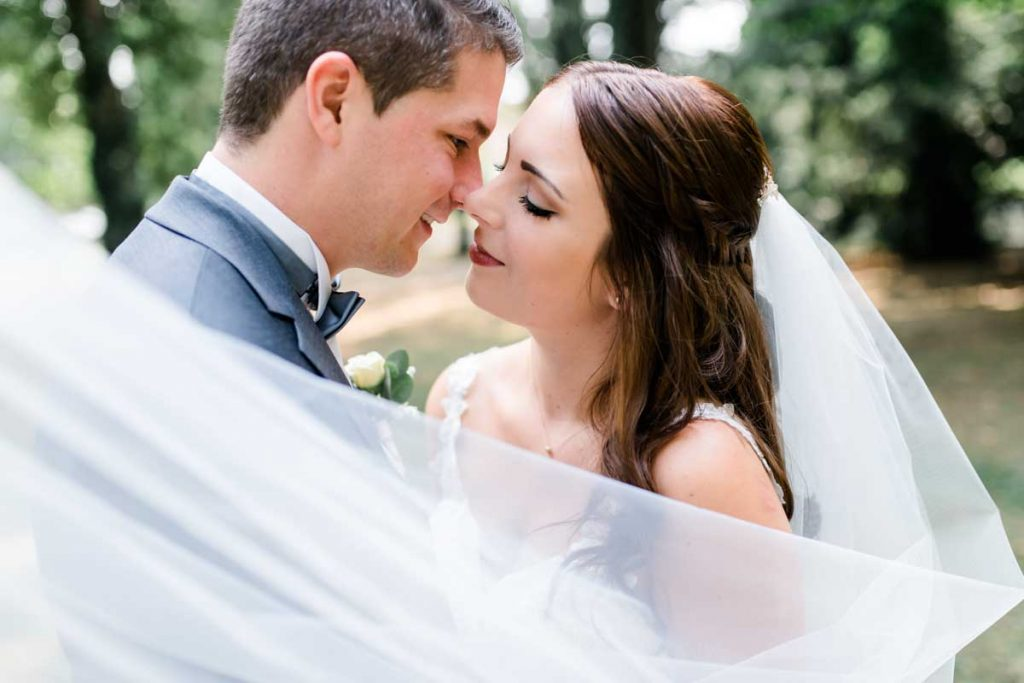 Hochzeitsshooting Park Bonfeld