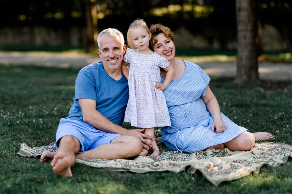 Natürliche Familienfotografie Ludwigsburg