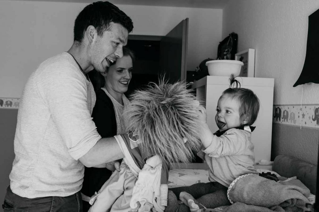 Dokumentarische Familienfotografie Tübingen