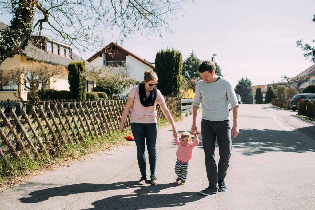 Natürliche Familienfotografie Tübingen