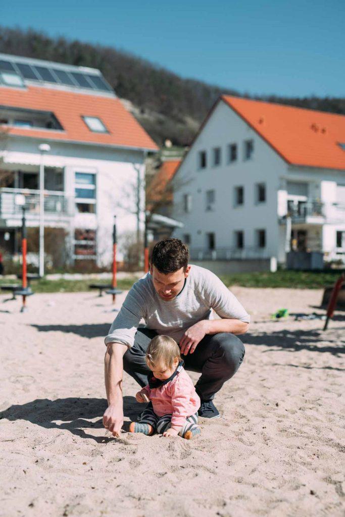 Natürliche Familienfotos Tübingen
