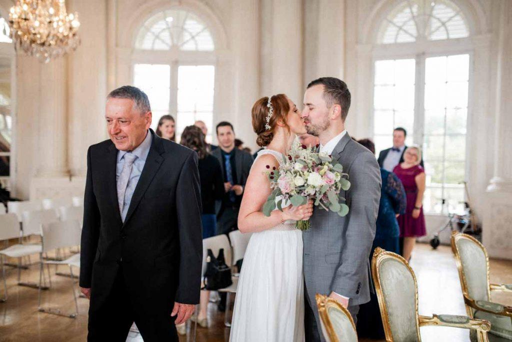 Standesamtliche Hochzeit Schloss Solitude