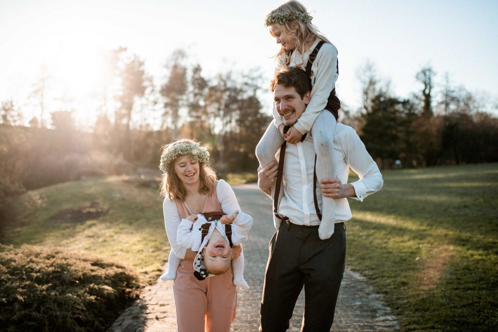 Hochzeitsshooting Hohenheim - Familienshooting Hohenheim
