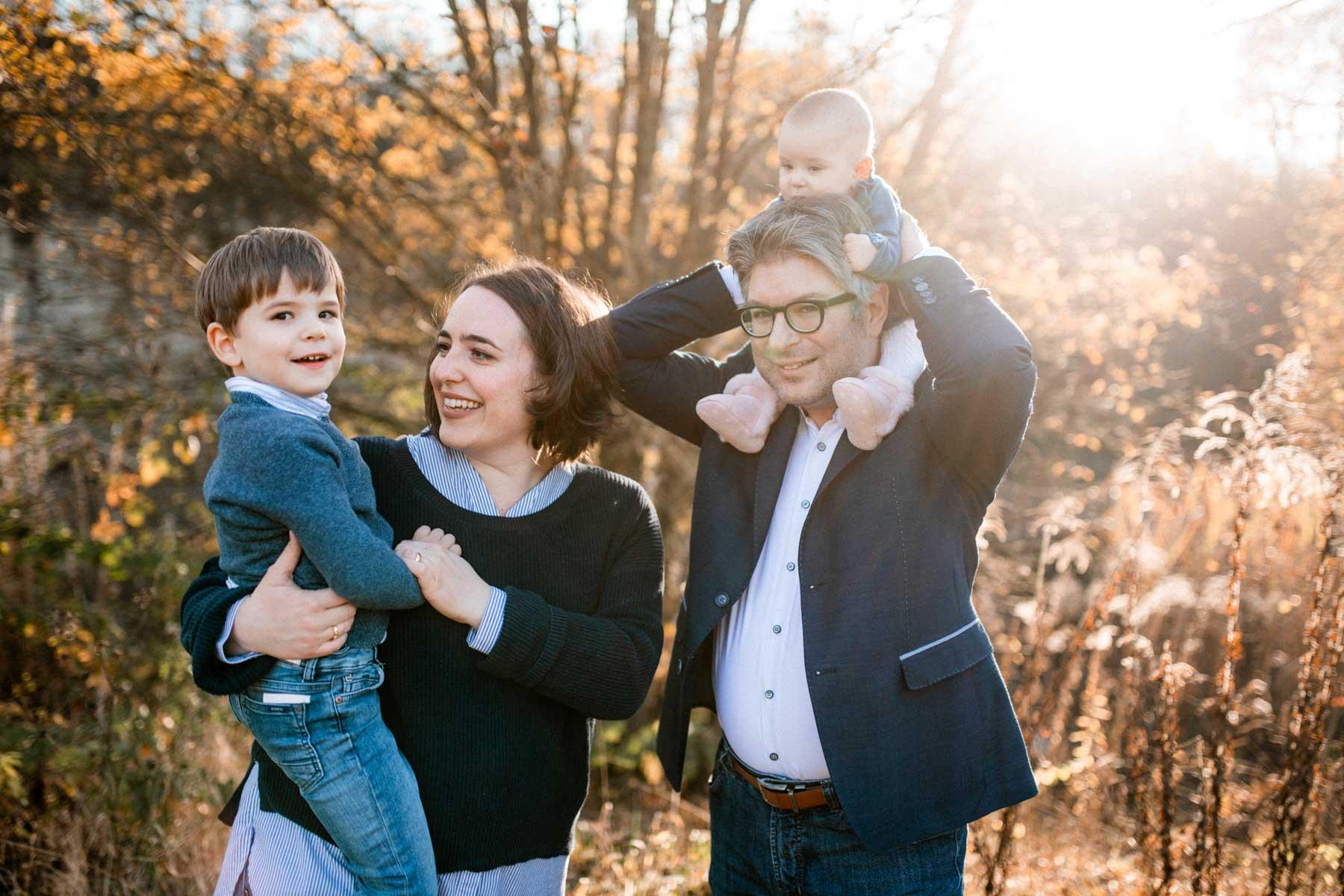 Familienshooting in Leutenbach - natürliche Familienfotos in Leutenbach