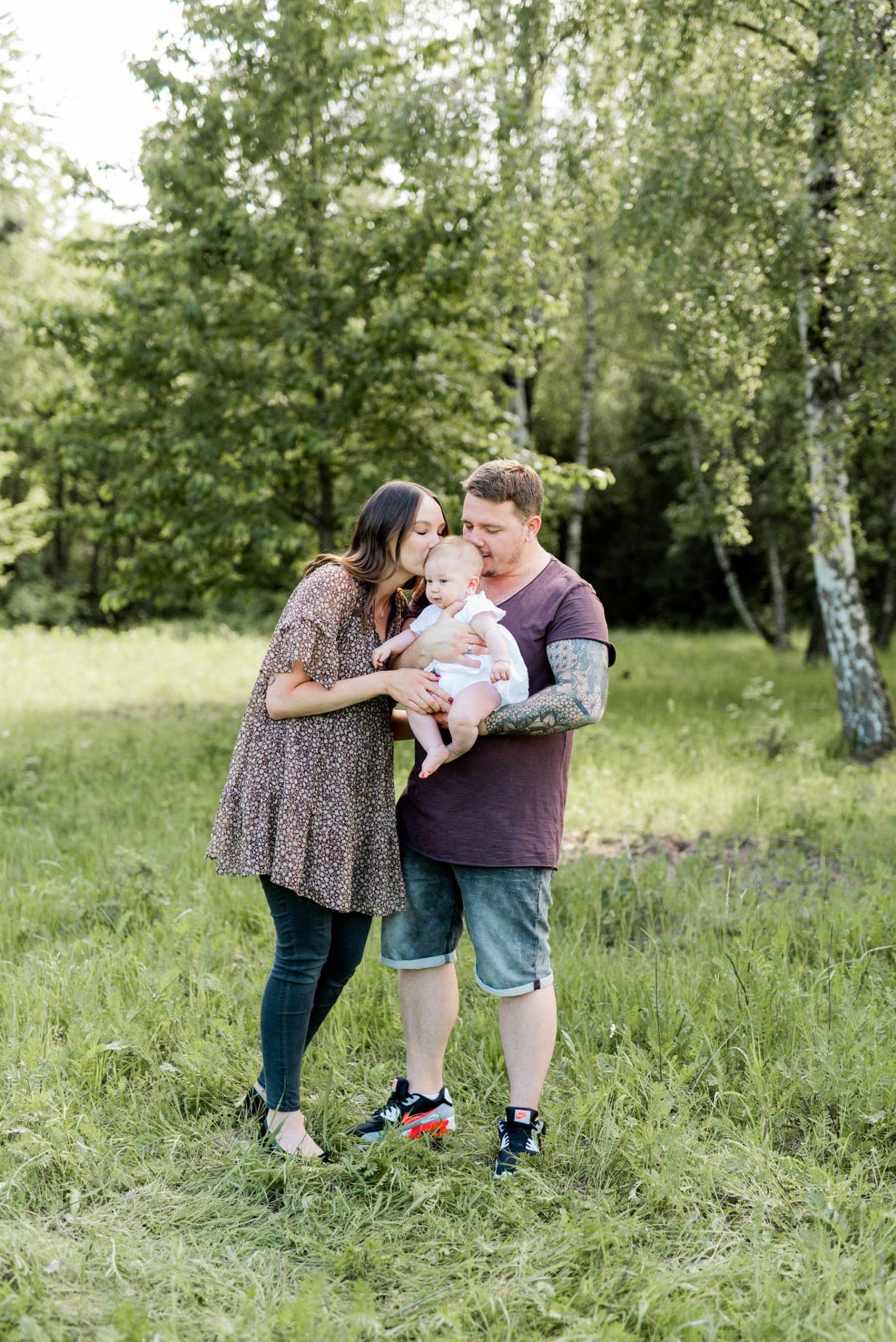 Natürliche Familienfotos in Heilbronn