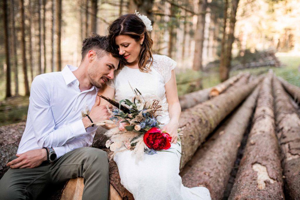 After Wedding Shooting Schwäbischer Wald