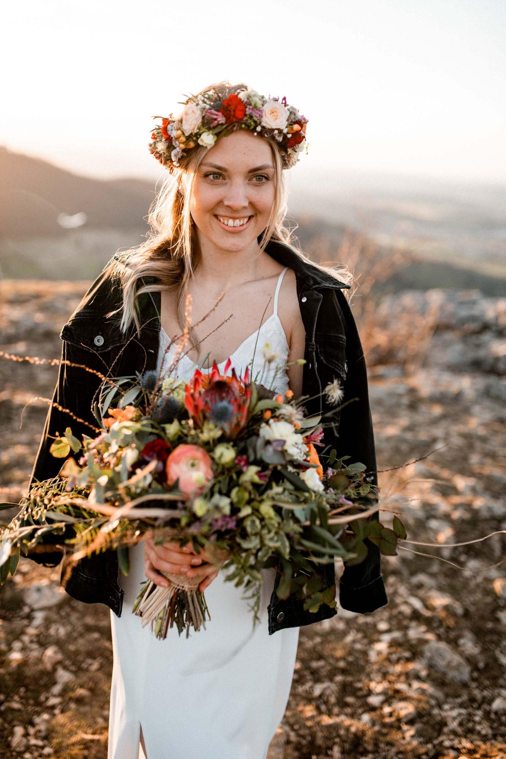 Hochzeitsshooting auf dem Breitenstein - Fotograf Schwäbische Alb